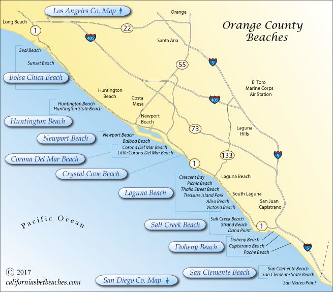 Orange county beaches for Fishing in orange county