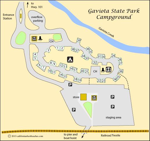 Gaviota State Park And Jalama Beach Camping