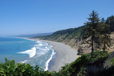 Agate Beach, Patrick's Point State Park,  Humboldt County, CA