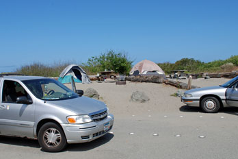 Clam Beach Campground, Humboldt County, CA