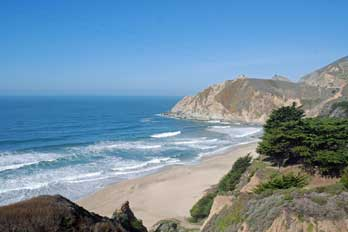 Gray Whale Cove, San Mateo County, CA