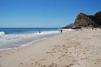Sycamore Cove Beach, Point Mugu State Park, Ventura County, CA