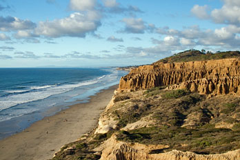 Torrey Pines State Beach, San Diego County, California